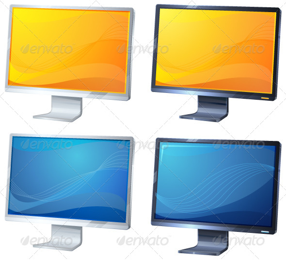 Monitor Illustration - Computers Technology
