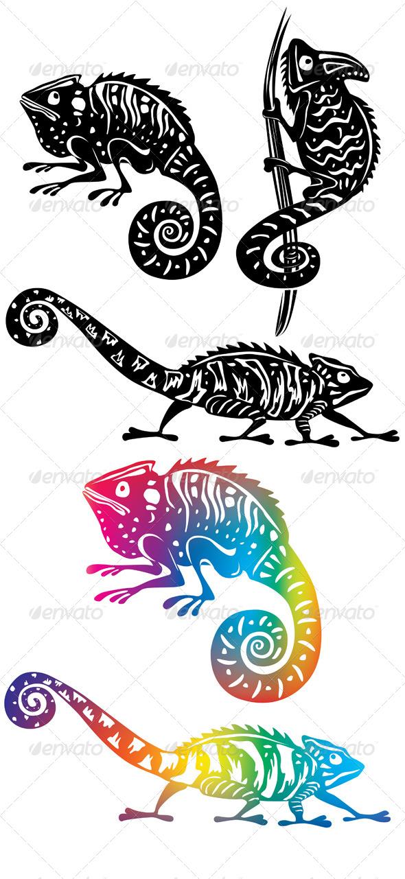 Chameleons - Animals Characters