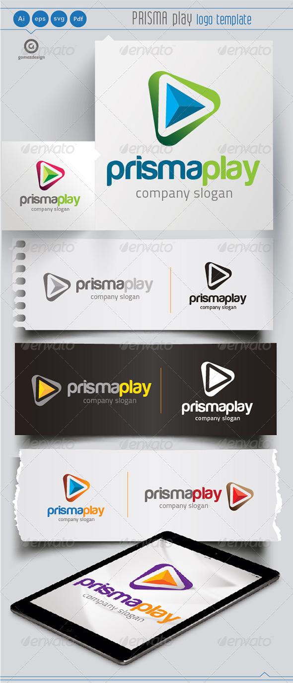 prisma Play - Logo Templates