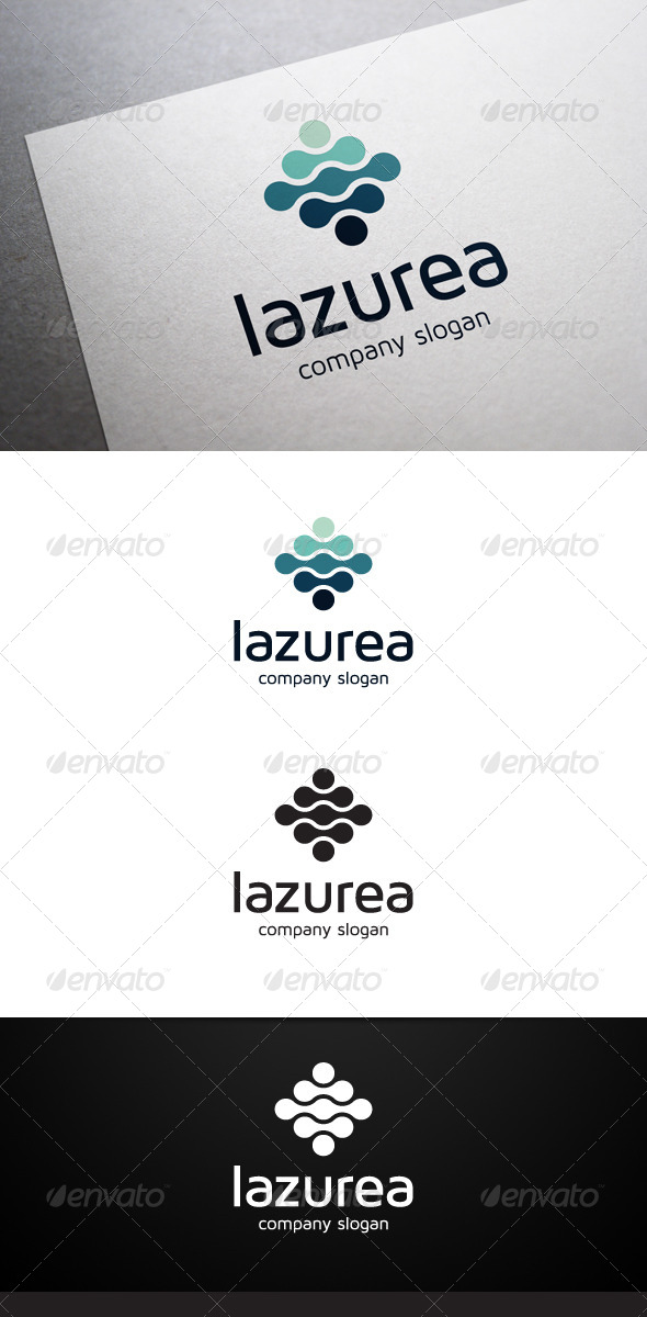 Lazurea Logo - Abstract Logo Templates