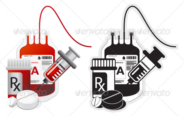 Medical Procedure Icon - Illustration - Health/Medicine Conceptual
