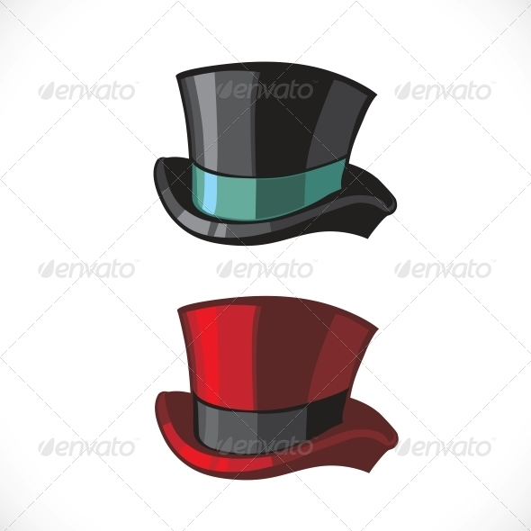Top Hats - Man-made Objects Objects