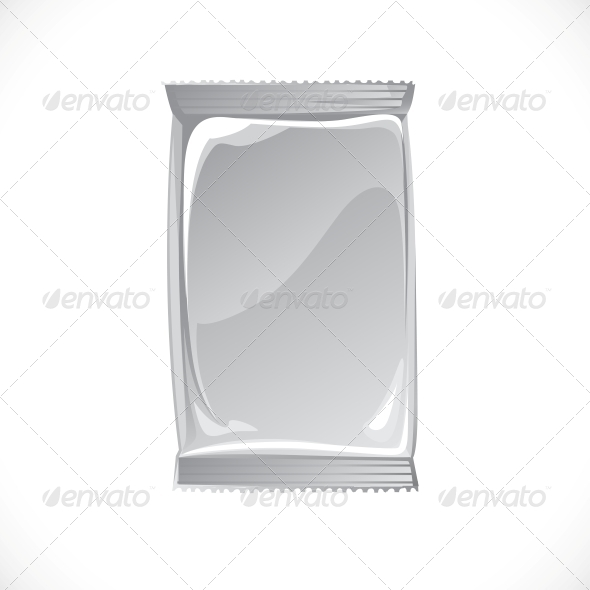 Hygienic Tissue Package Vector - Man-made Objects Objects