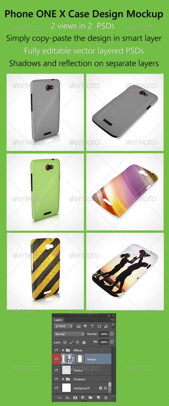 Phone OneX Case Design Mockup