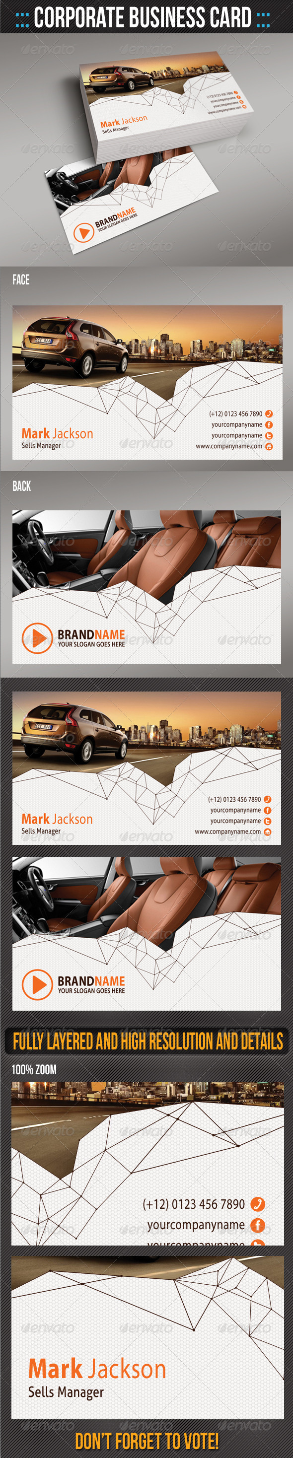 Corporate Business Card 06 - Creative Business Cards