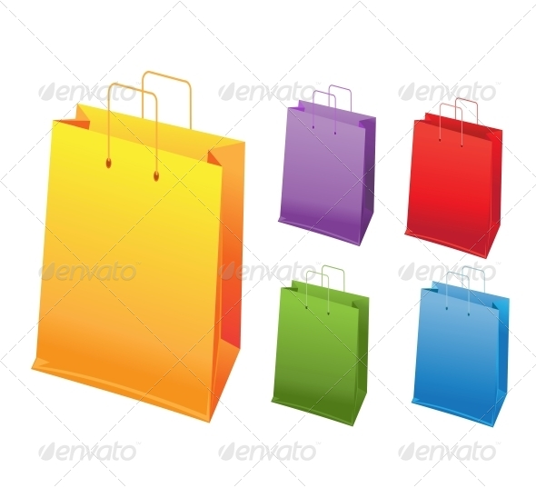 Shopping Bags - Man-made Objects Objects