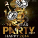 Flyer Golden Club New Year Party - GraphicRiver Item for Sale