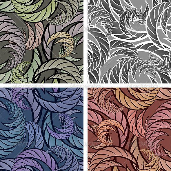 Seamless Abstract Pattern - Patterns Decorative