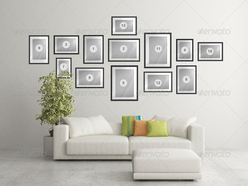 Art Wall Mock Up Vol 2