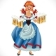 Oktoberfest Girl with Beer - GraphicRiver Item for Sale