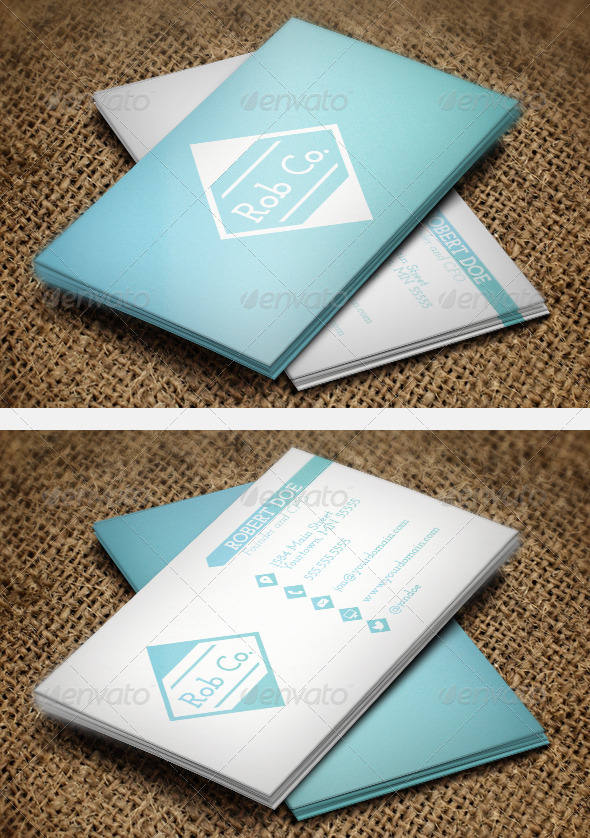 Clean Gradient Business Cards - Creative Business Cards