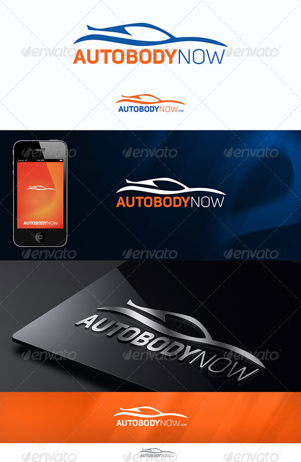 AutoBodyNow - Objects Logo Templates