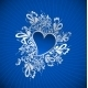 Blue Heart to the St.Valentine - GraphicRiver Item for Sale