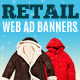 Multipurpose Retail Web Ad Banners - GraphicRiver Item for Sale