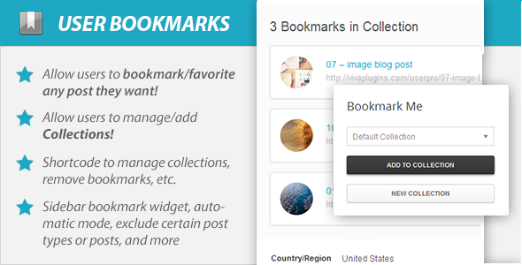WordPress User Bookmarks for UserPro - CodeCanyon Item for Sale