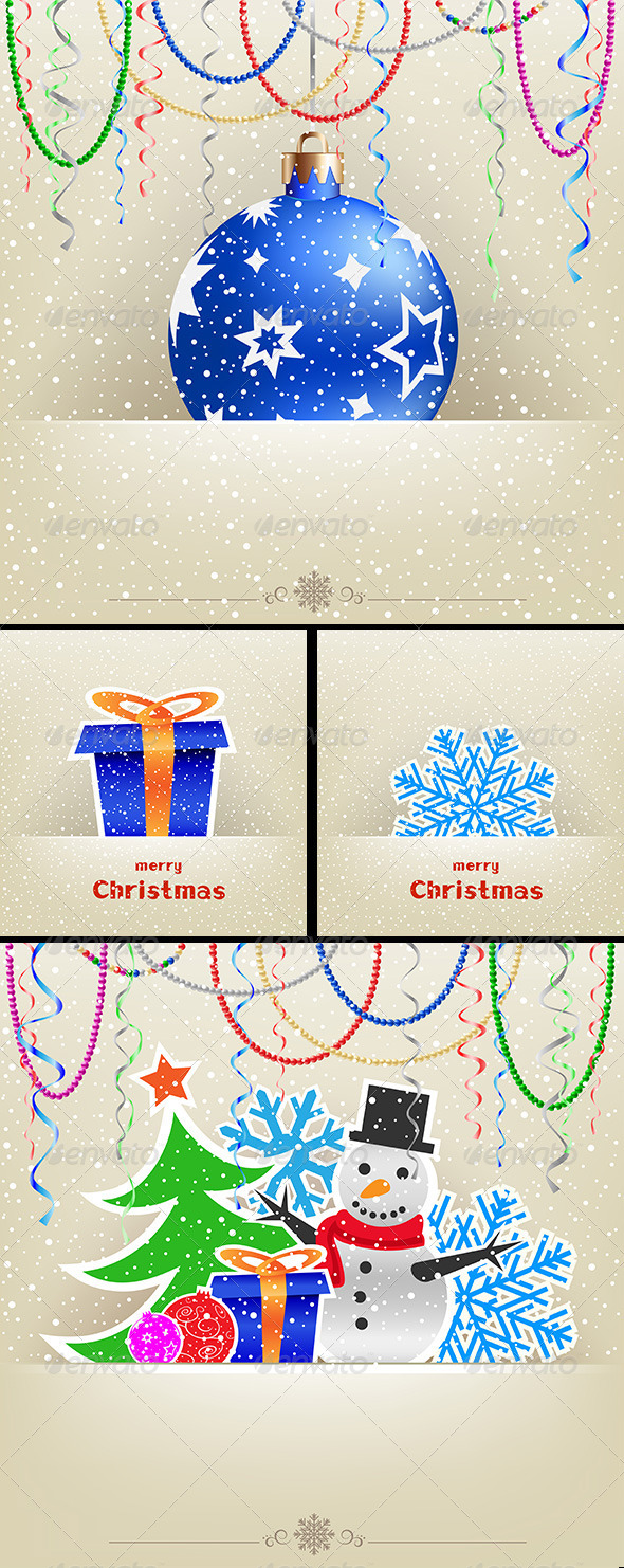Christmas and New Year Card Collection - Christmas Seasons/Holidays