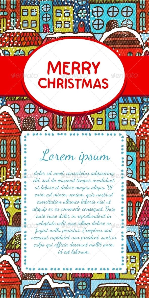 Christmas Invitation Card - Christmas Seasons/Holidays