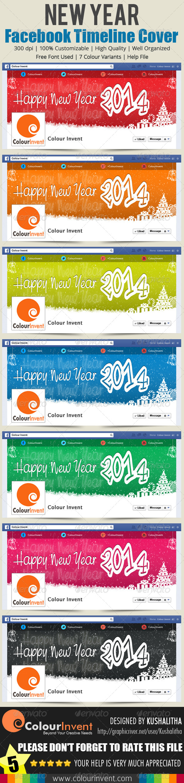 New Year Facebook Cover - Facebook Timeline Covers Social Media