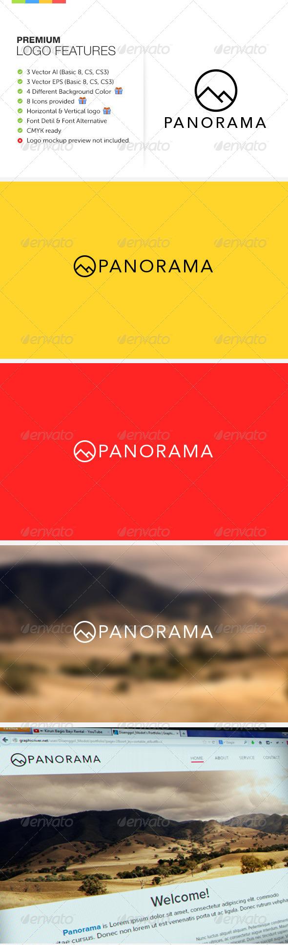 Panorama Logo - Symbols Logo Templates