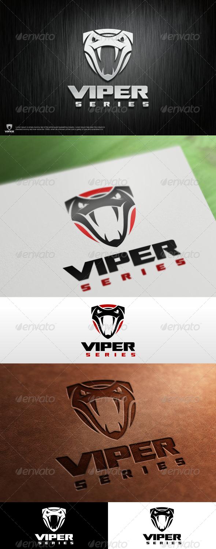 Viper Logo Template - Animals Logo Templates