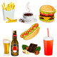 Set of Fast Food  - GraphicRiver Item for Sale