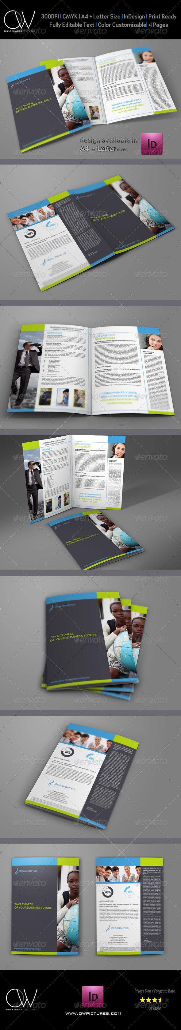 Company Brochure Bi-Fold Template Vol.13 - Corporate Brochures