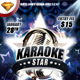 Karaoke Star Or Night Party Flyer - GraphicRiver Item for Sale