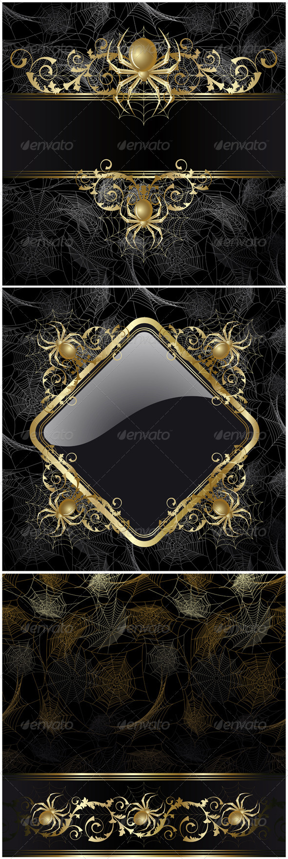 Frame with spider - Halloween Seasons/Holidays