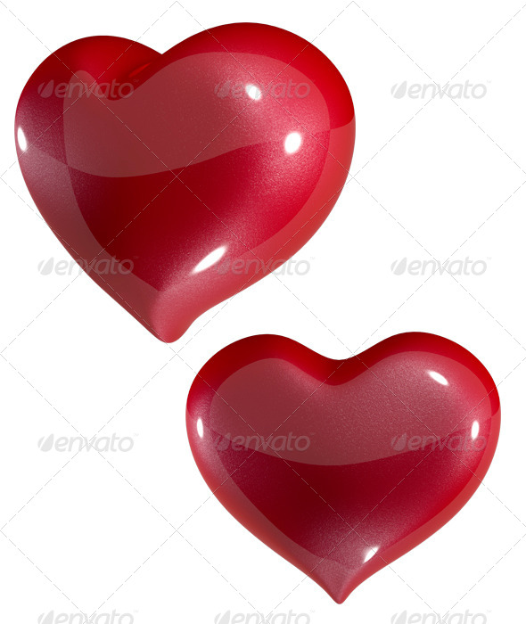 Red Heart - Objects 3D Renders
