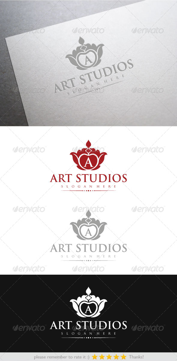 Art Studio - Vector Abstract