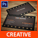 Modern Creative Business Card Vol - 01 - GraphicRiver Item for Sale