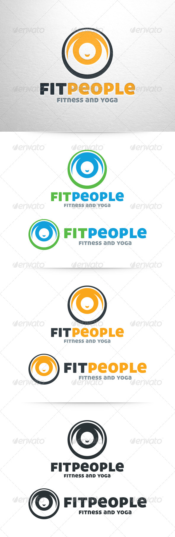 Fit People Logo - Humans Logo Templates