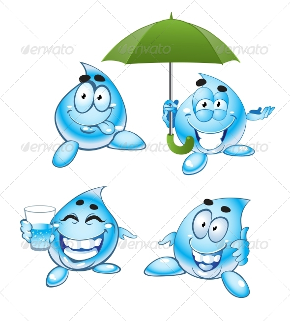 Drops of Water - Miscellaneous Characters