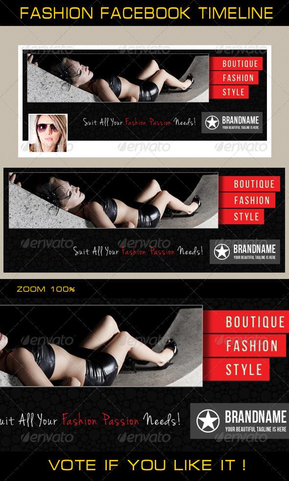 Fashion Facebook Timeline 05 - Facebook Timeline Covers Social Media