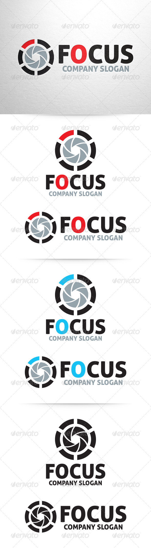 Focus Photography Logo Template By Liveatthebbq Graphicriver