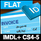Flat Design Office Invoice - GraphicRiver Item for Sale