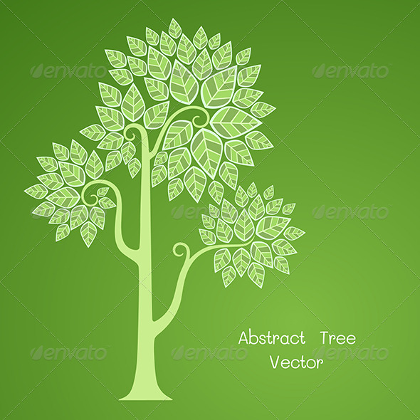 Abstract Tree - Nature Conceptual