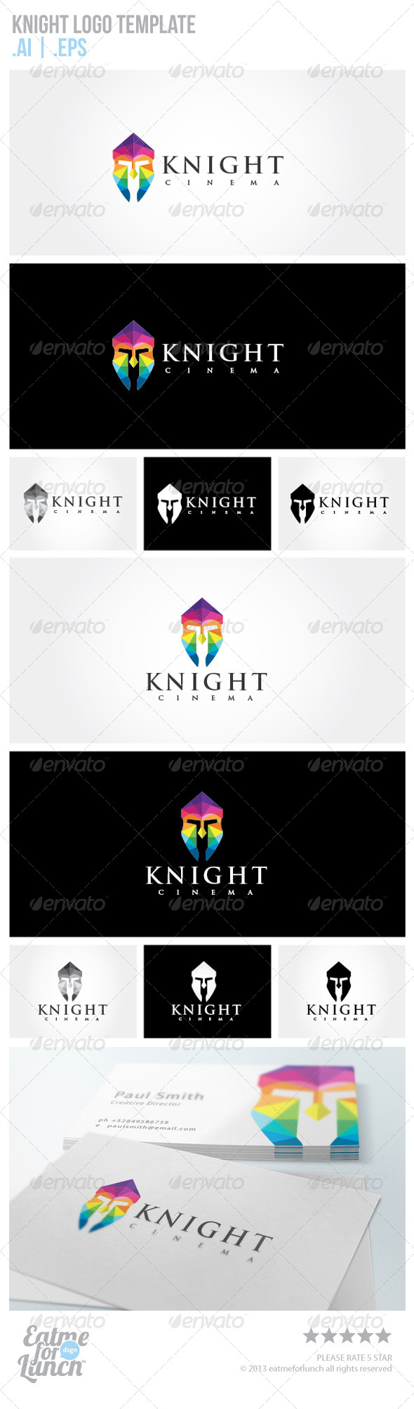 Knight Logo Template - Objects Logo Templates