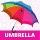 Rainbow Umbrella - GraphicRiver Item for Sale