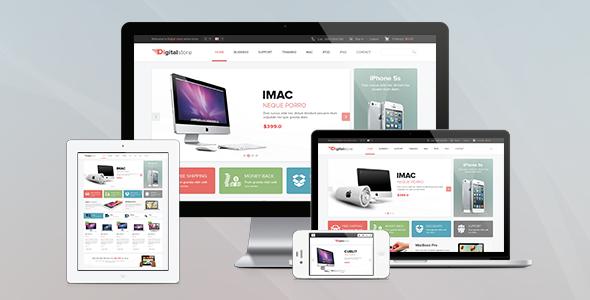 Pav Digital Store Responsive Opencart Theme - Technology OpenCart
