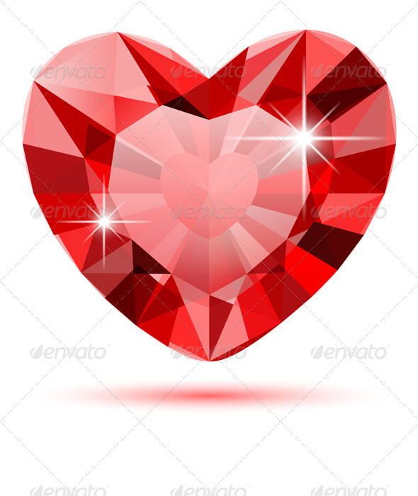 Diamond Heart - Valentines Seasons/Holidays