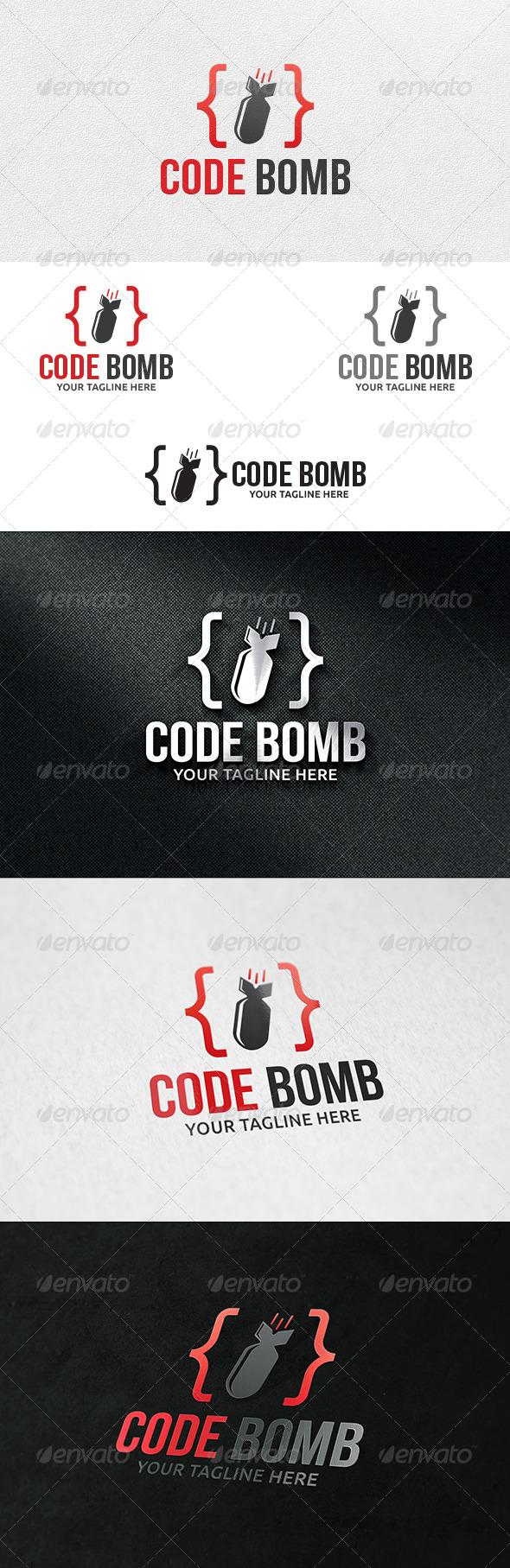 Code Bomb - Logo Template - Symbols Logo Templates