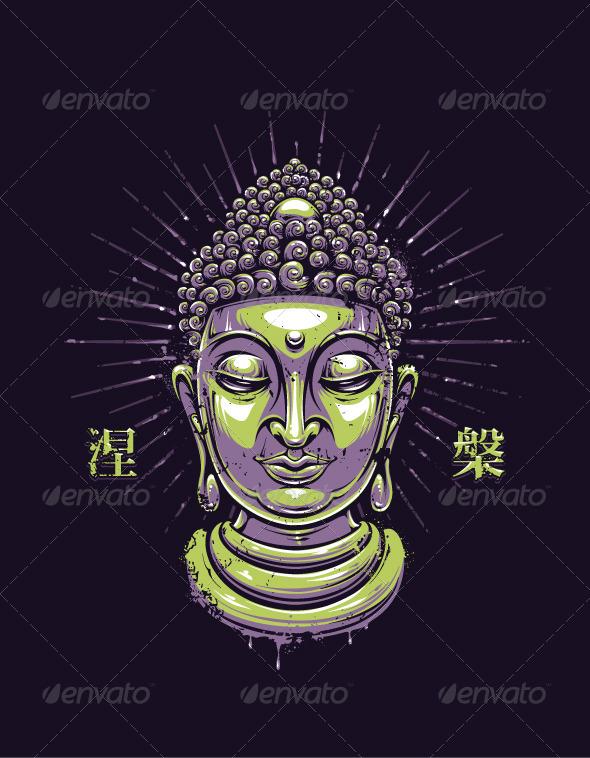Vector Buddha Print - Vectors