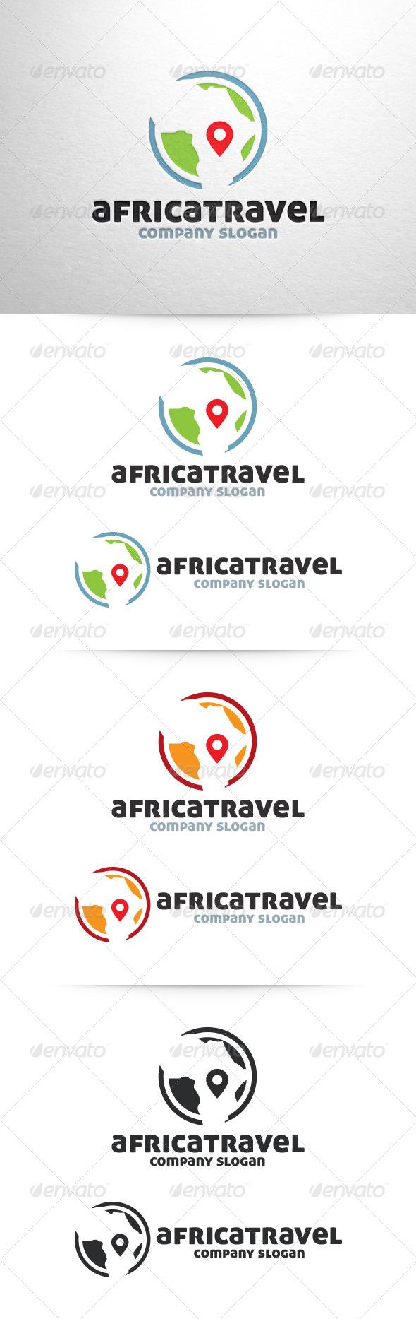 Africa Travel Logo - Symbols Logo Templates