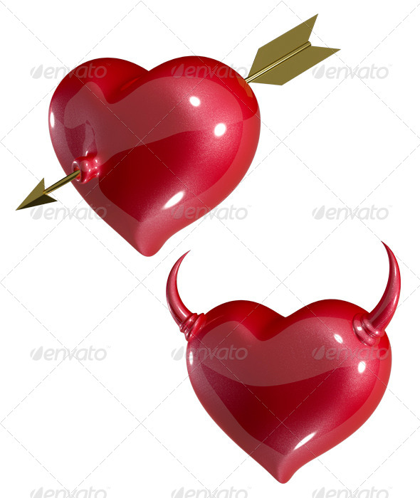 Heart with Arrow - Graphics