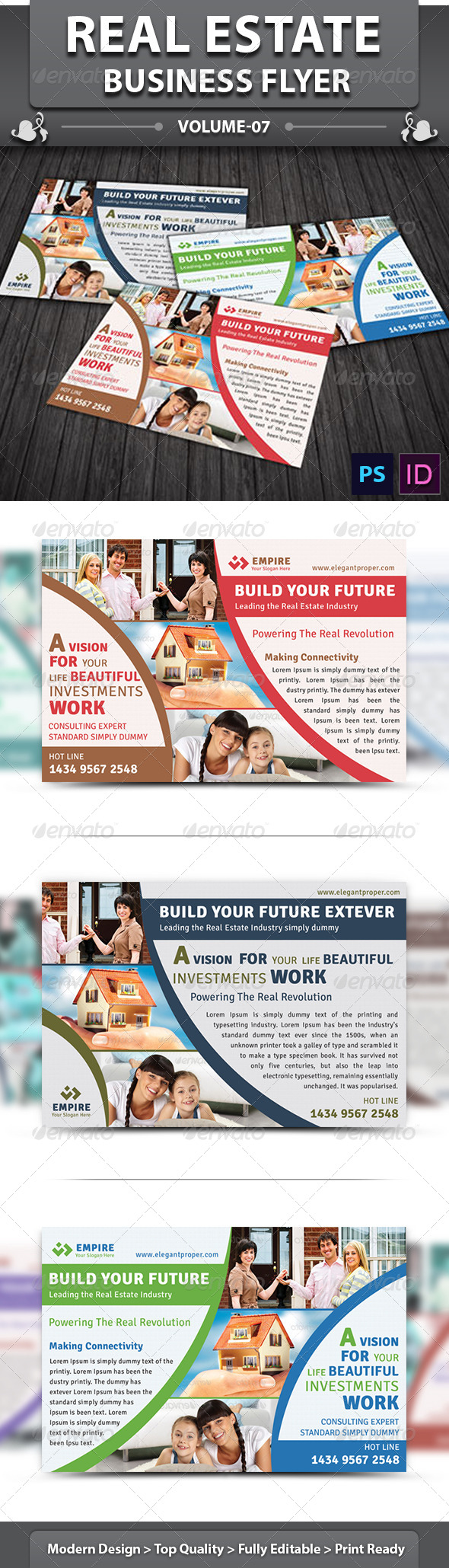 Real Estate Business Flyer | Volume 5 - Corporate Flyers
