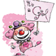 Happy Clown - Its a Girl - GraphicRiver Item for Sale
