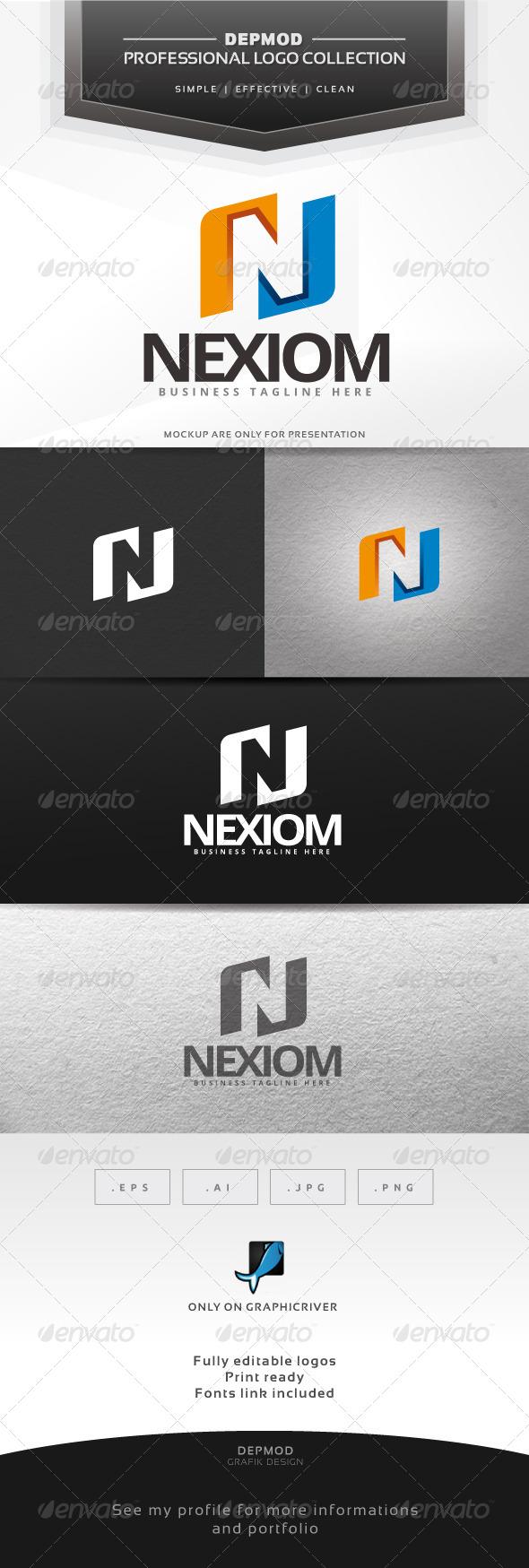 Nexiom Logo - Letters Logo Templates