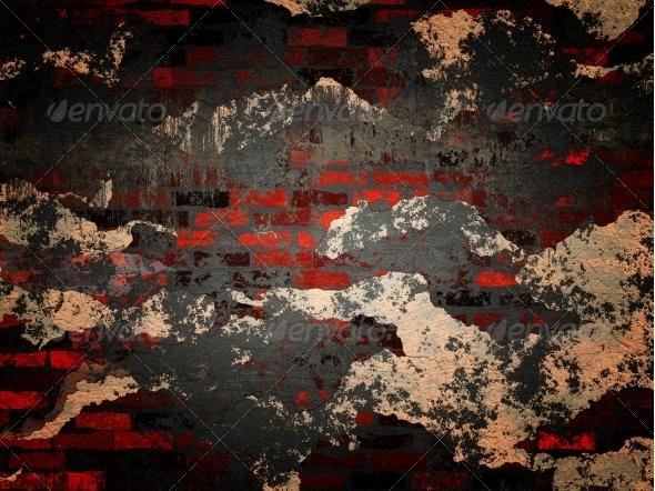 Grunge brick wall - Industrial / Grunge Textures