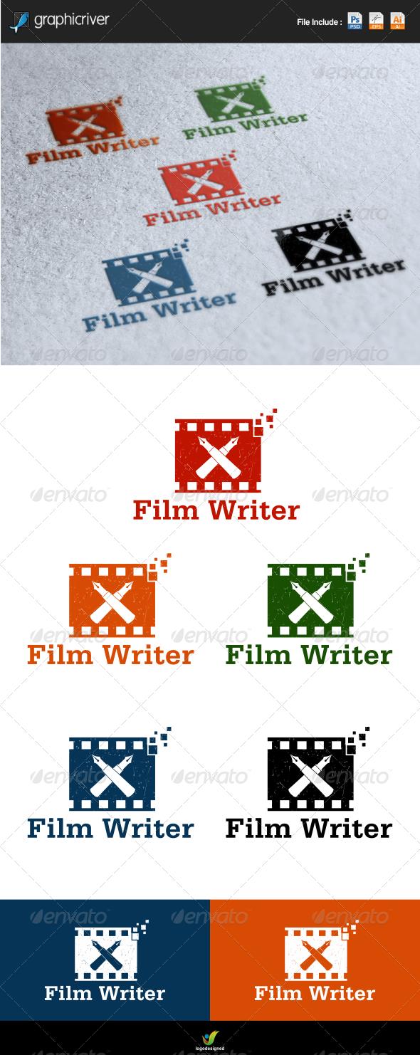 Film Writer  - Symbols Logo Templates